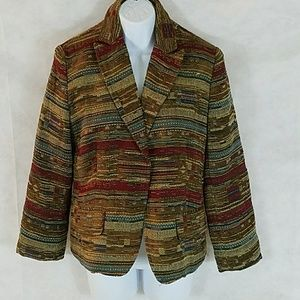 Napa Valley multi-colored colored blazer